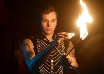 Beckwith & Fuller Events | Providing High End, Bespoke, Circus-Themed Entertainment | Fire Show