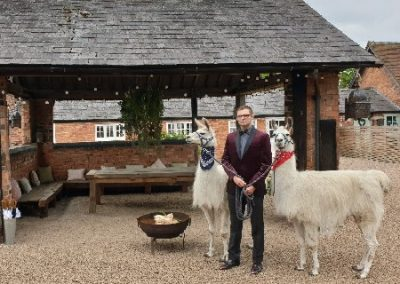 Beckwith & Fuller Events | Providing High End, Bespoke, Circus-Themed Entertainment | Llamas